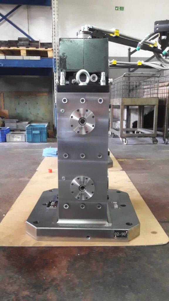 Zero Point Uygulamalı 4 Yüzeyli Cnc Yatay İşleme Kulesi