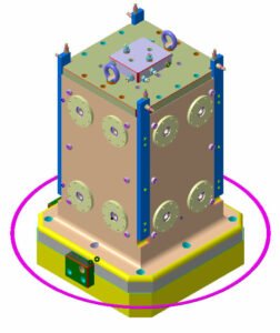 Zero Point Uygulamalı 4 Yüzeyli Cnc Yatay İşleme Kulesi 3 Boyutlu Tasarım